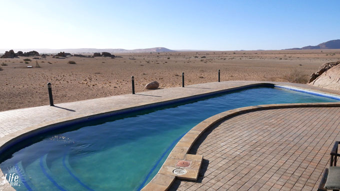 Pool Desert Quiver Camp