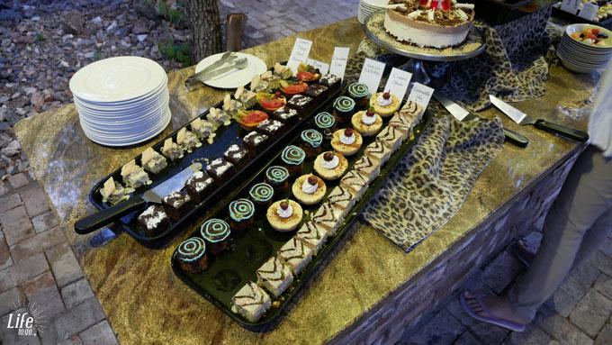 Etosha Village Abendessen Dessert