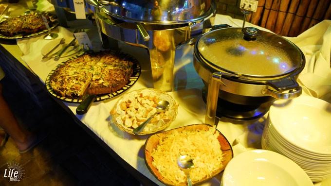 Etosha Village Abendessen