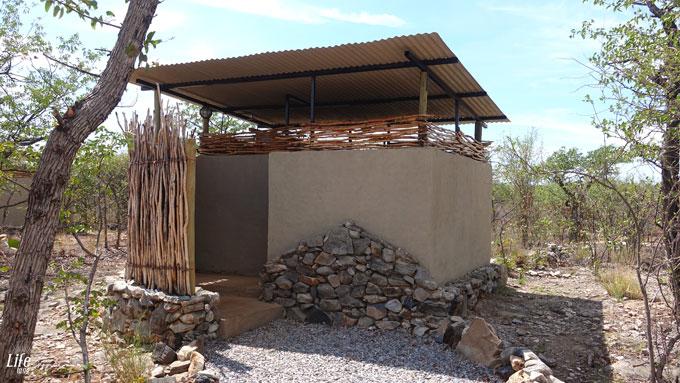 Etosha Village Campsite Bathroom