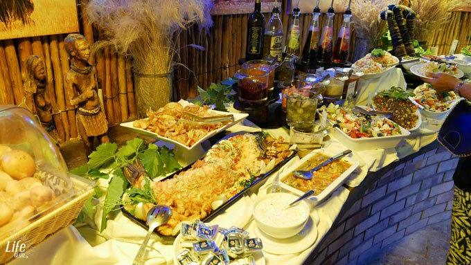 Etosha Village Lodge Buffet