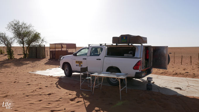 Guestfarm D707 and Namibia Camping