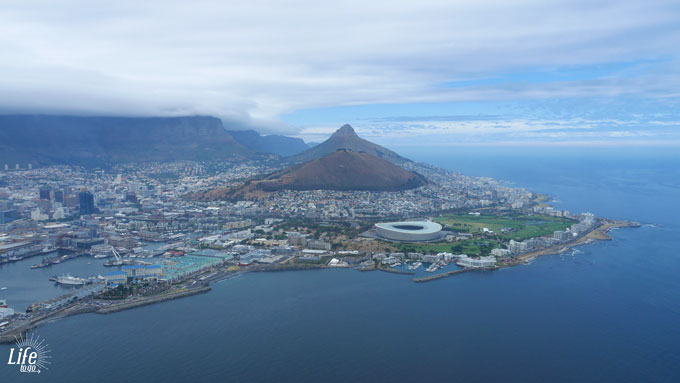 Helikopter Rundflug mit NAC Helicopters-Cape-Town