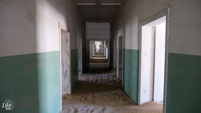 Krankenhaus in der Geisterstadt Kolmanskop