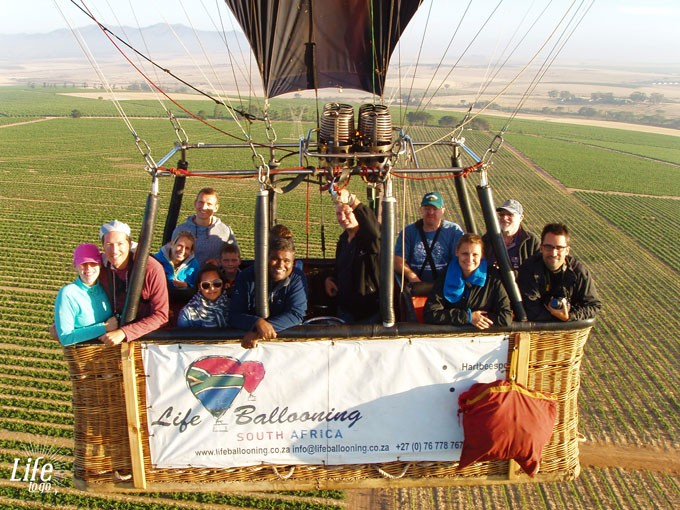 Life Ballooning Hot Air Balloon Flight