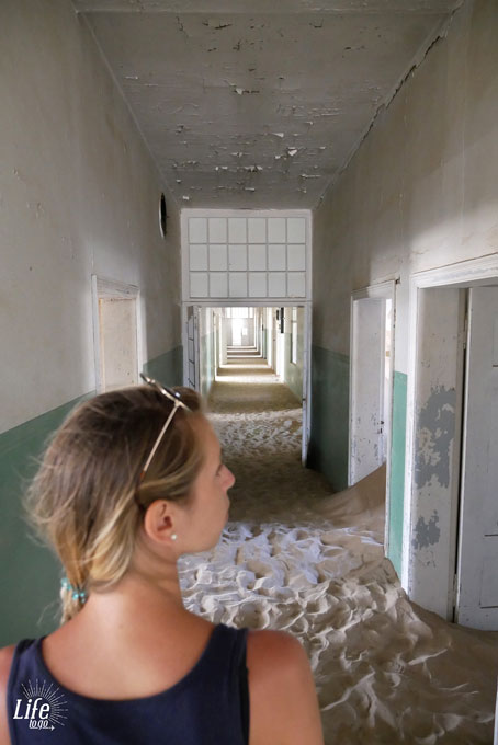 Lost Place Hospital Ghost Town in Namibia Kolmanskop
