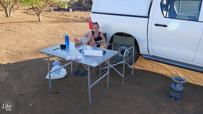 Mesosaurus Campsite Namibia camping