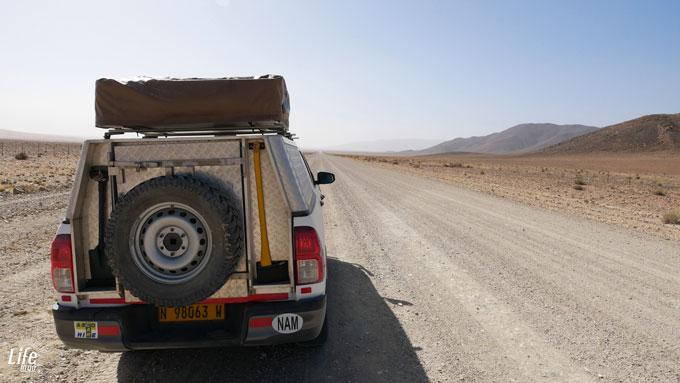 Namibia Roadtrip auf der D707