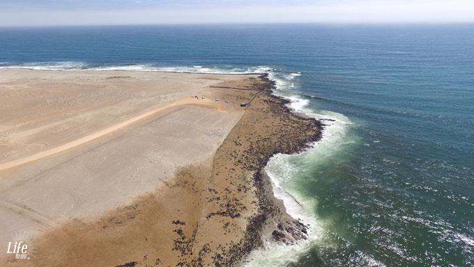 Robben so weit das Auge reicht am Cape Cross Seal Reserve Namibia