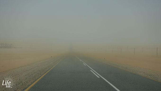 Sandsturm Namibia