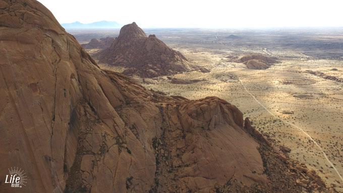 Spitzkoppe Namibia und wundervolle Aussicht