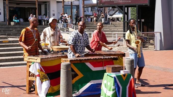 Straßenmusik eins unserer Kapstadt Highlights