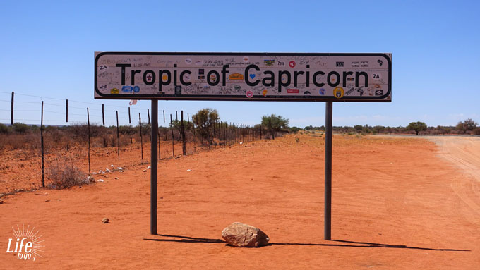 Namibia Tropic of Capricorn
