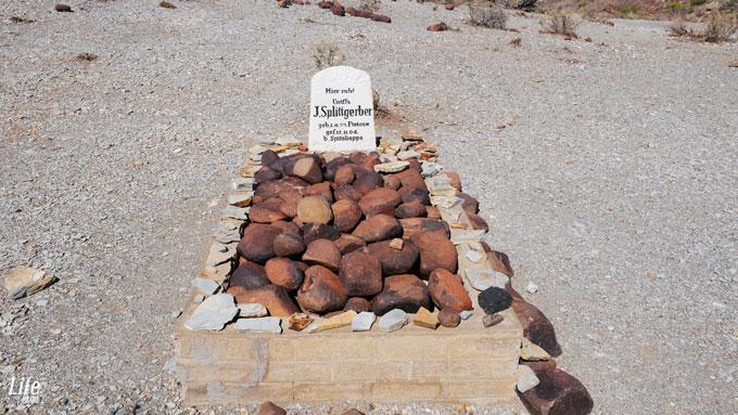 Grab eines deutschen Soldaten in Namibia