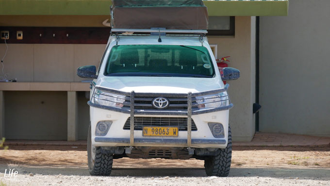 ASCO Car Hire Toyota Hilux in Namibia