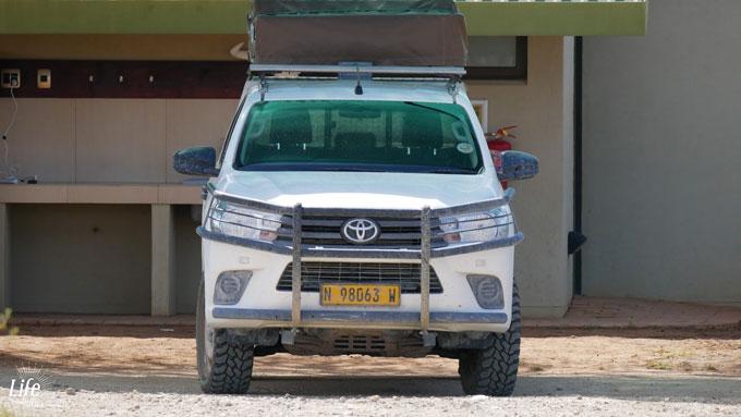 ASCO Car Hire Toyota Hilux in Namibia