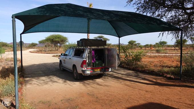 Camping Erindi Private Game Reserve