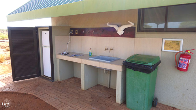 Campsite Kitchen Erindi Game Reserve