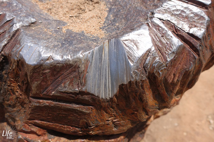 Hoba Meteorit Eisengehalt