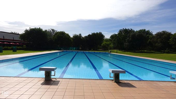 Kupferquelle Resort Camping Olympia Schwimmbecken