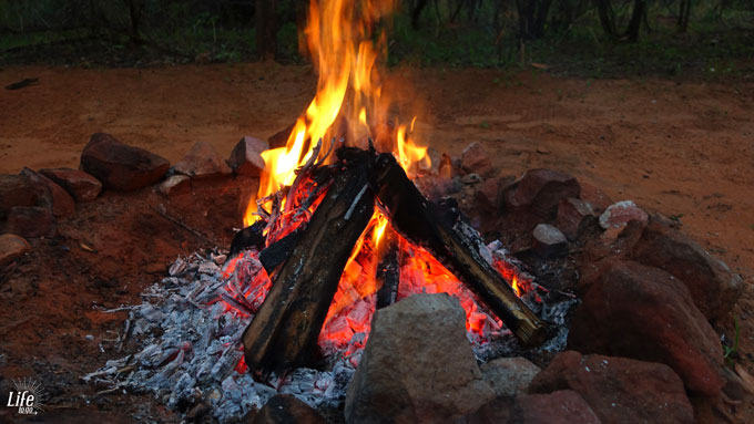 Waterberg Wilderness Camping Lagerfeuer