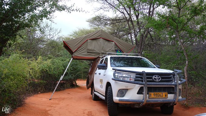 Waterberg Wilderness Campsite in Namibia