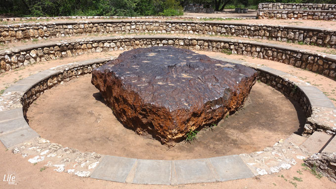 Der Hoba Meteorit in Grootfontain Namibia