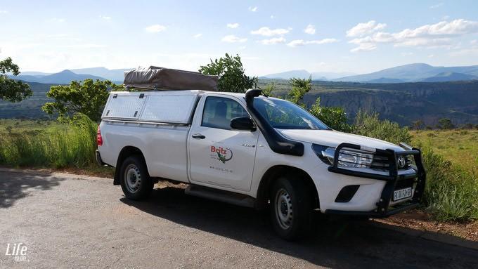 Britz Mietwagen Südafrika