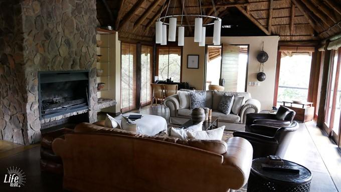 Tshwene Lodge Haupthaus im Welgevonden Game Reserve