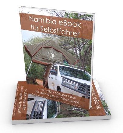 Namibia eBook Reiseführer für Selbstfahrer