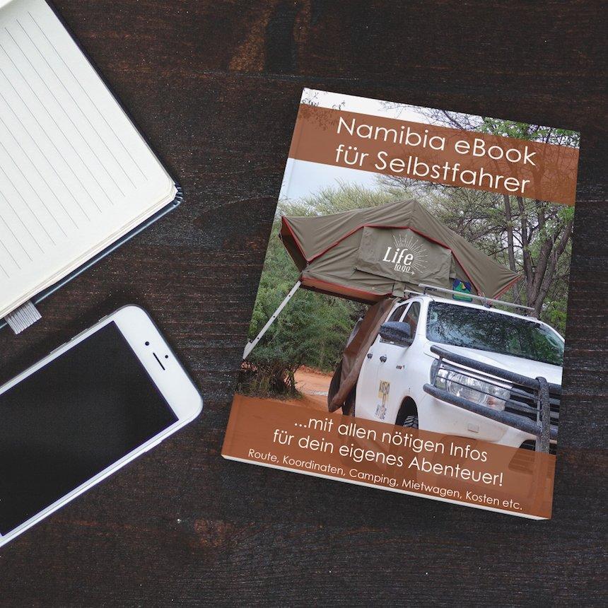 Namibia eBook Reiseführer für Selbstfahrer, zur Planung und Vorbereitung der Reise