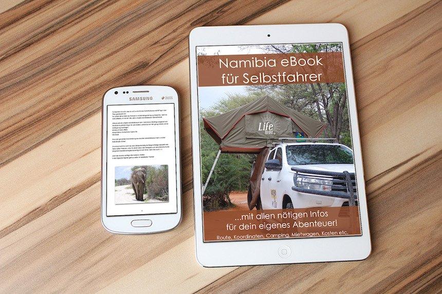 Namibia eBook für Selbstfahrer kaufen