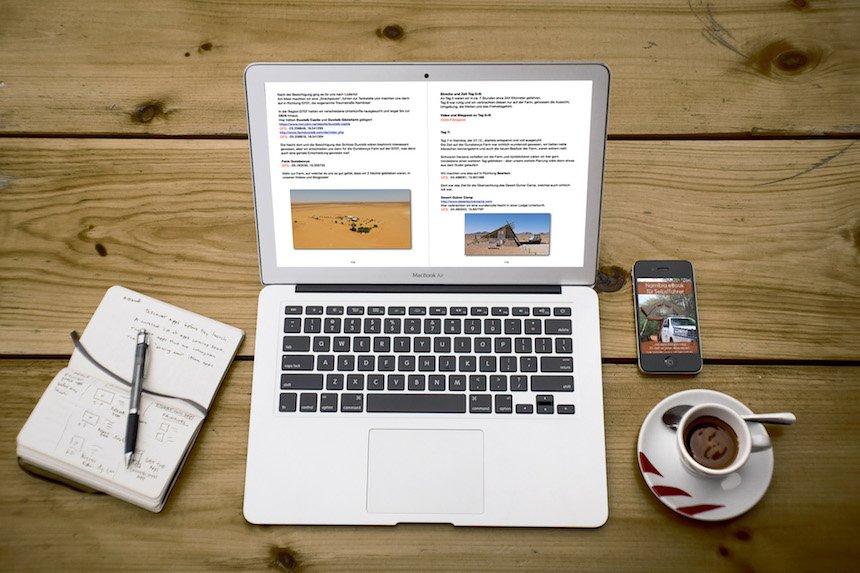 eBook Namibia zur Reiseplanung