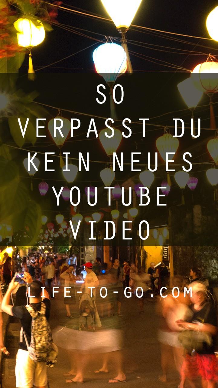 YouTube Benachrichtigungen per Glocke aktivieren und keine Videos verpassen