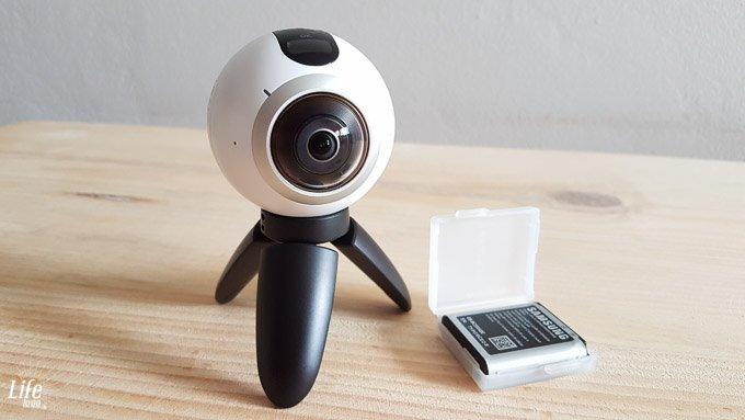Life to go Weltreise 360 Grad Kamera Samsung Gear 360