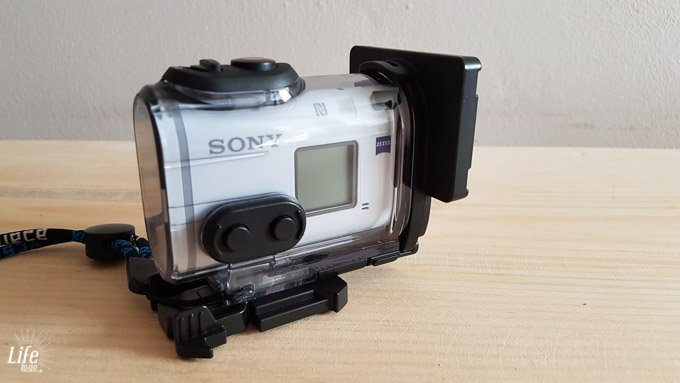 Weltreise Actioncam Sony FDR-X1000V
