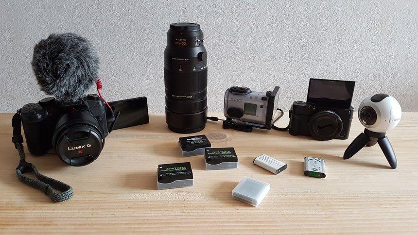 Weltreise Kamera 2017 und Fototechnik auf Reisen