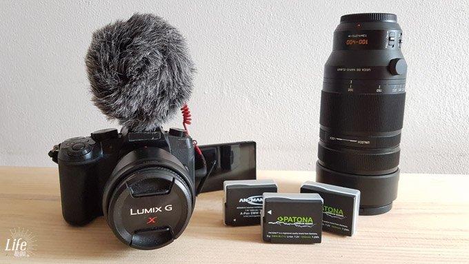 Weltreise Kamera Panasonic Lumix G81