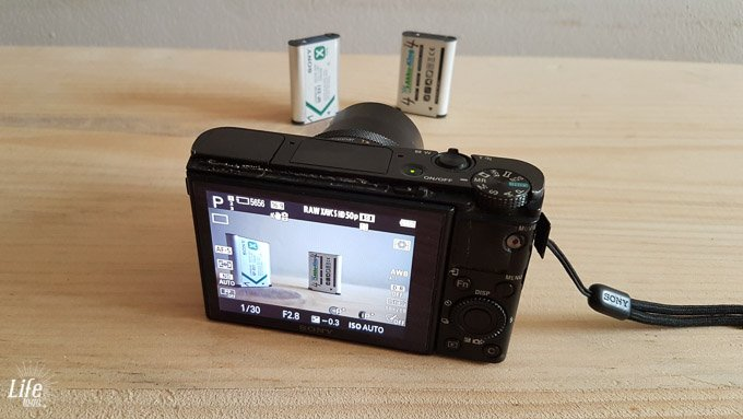 Weltreise Kamera Sony RX100IV