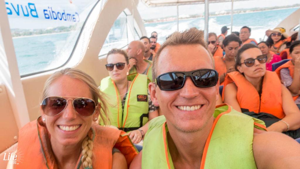 Anreise per Speedboot von Sihanoukville nach Koh Rong Samloem