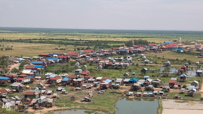 Aussicht Umland von Siem Reap mit DJI Mavic Pro