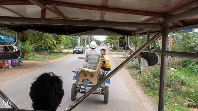Battambang TukTuk Fahrt und verrückte Dinge