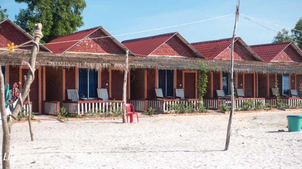 Bungalows Unterkunft Otres Beach