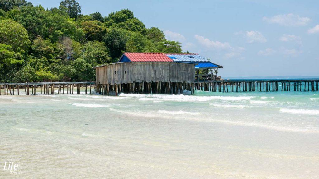 Clearwater Bay Pier Koh Rong Samloem