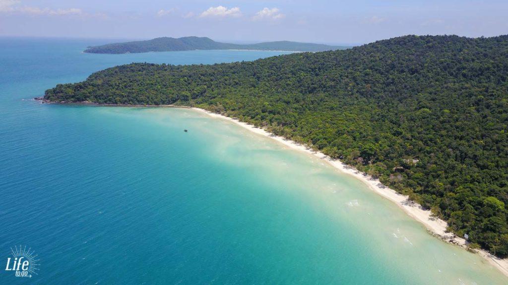 Clearwater Bay Koh Rong Samloem - Drohnen Aufnahme - DJI Mavic Pro