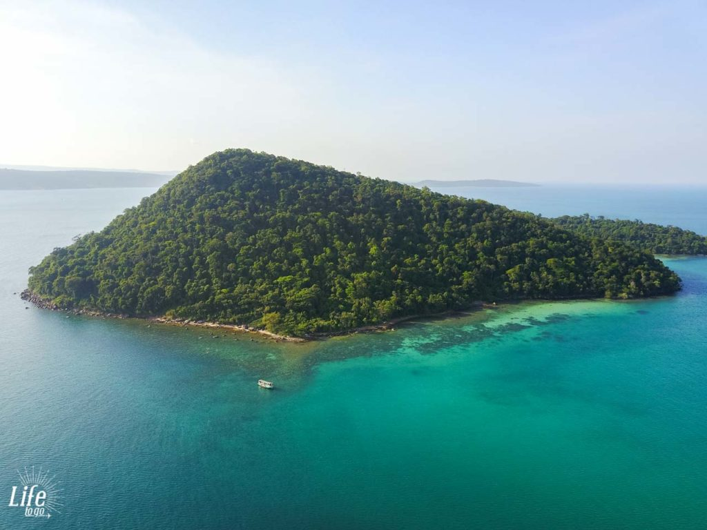 Insel vor Koh Rong Samloem - DJI Mavic Pro