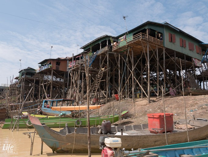 schwimmendes Dorf Kompong Phluk
