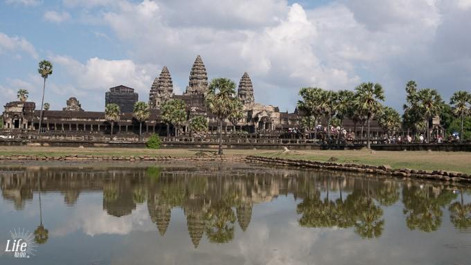 Angkor Wat Spiegelung Life to go Weltreise