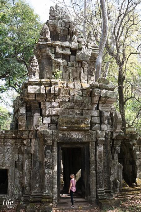 Angkor Wat und weitere Tempel
