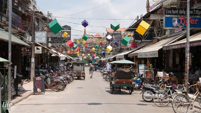 Siem Reap Pup Street